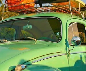 cars, lime, and surfboard image