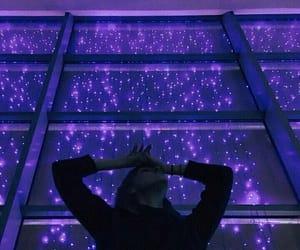 purple, tumblr, and light image