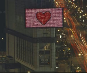 heart and night image
