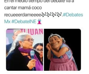 funny, coco, and debate presidencial image