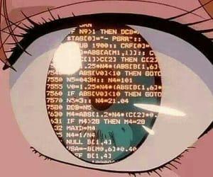 anime, eye, and 90s image
