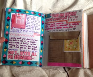aesthetic, fyeahjournals, and journaling junkie image