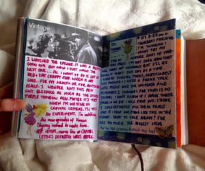 aesthetic, art journal, and stickers image