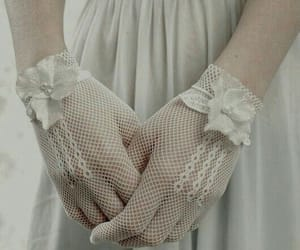 girl, hands, and white image