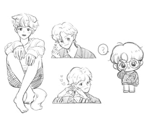 exo, fanart, and puppy image
