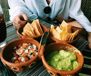 food, summer, and guacamole image