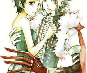 allen, manga, and lenalee image