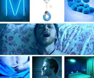 aesthetic, blue, and fandom image