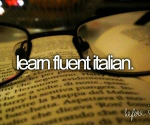 italian, learn, and language image