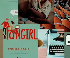 books, icons, and fangirl image