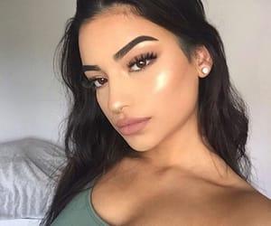 article, glow, and makeup image