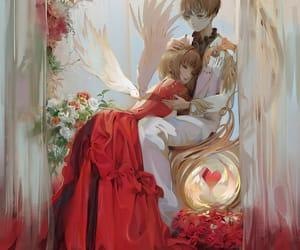 cute anime, sakura kinomoto, and anime couples image