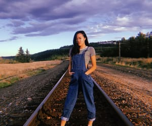 aesthetic, overalls, and photography image