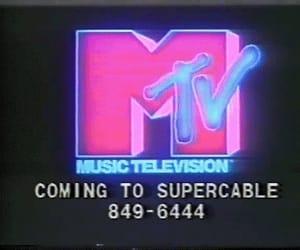 mtv, grunge, and neon image
