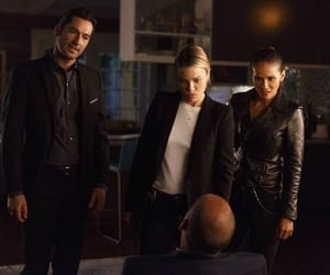 fox, lucifer, and mazikeen image
