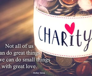 charity quotes, charity slogans, and generosity quotes image