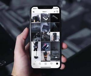 iphonex, allblackeverything, and luxurylife image