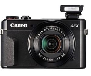 camera and canon g7 x mark ii image
