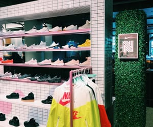 aesthetic, nike, and pink image