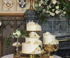 cake, royal, and royal wedding image