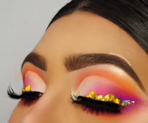 crystals, makeup, and inspi image
