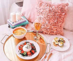 breakfast, snack, and delicious image