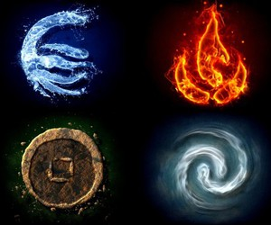 fire, water, and air image