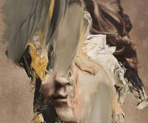 art, paint, and sculpture image
