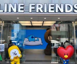 tata, 原宿, and line friends image