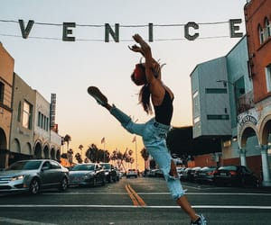 girl, venice, and dance image
