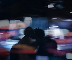 article, couple, and late night image