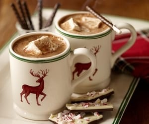 beautiful, drink, and hot chocolate image