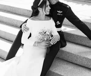 prince harry, meghan markle, and royal wedding image