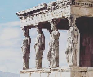 atene, cariatidi, and acropoli image