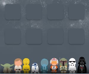 star wars, wallpaper, and iphone image