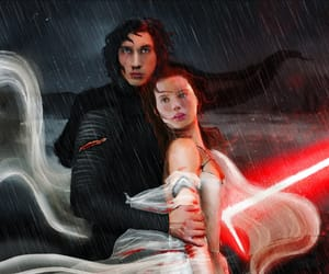 art, adam driver, and daisy ridley image