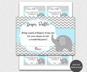 etsy, girl baby shower, and baby shower ideas image