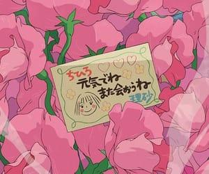 anime, pink, and spirited away image