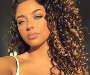 beautiful, curly, and femme image