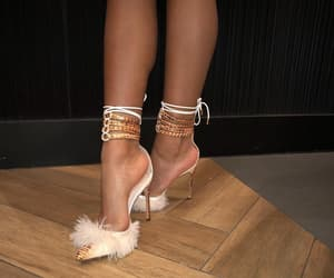 beauty, beautiful shoes, and glam image