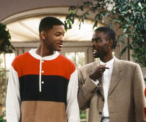 fresh prince of bel-air, will smith, and chris rock image