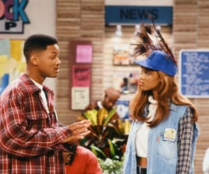 fresh prince of bel-air, will smith, and tyra image