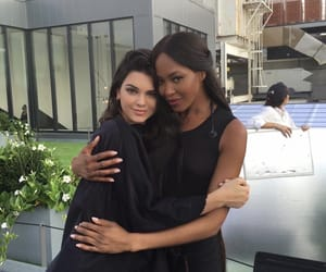kendall jenner, model, and Naomi Campbell image