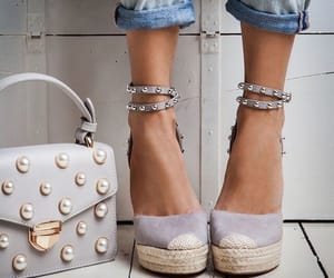 footwear, handbag, and heels image