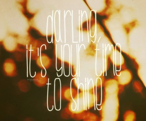 quote, shine, and vintage image