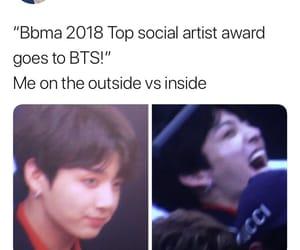 bbma, bts meme, and jeongguk image