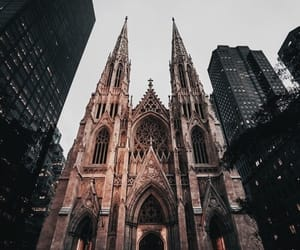 cathedral, new york, and saint patrick image