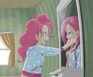 sad, happy, and pinkie pie image