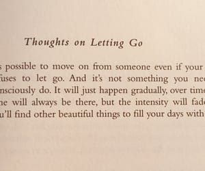 forgetting, go, and let image