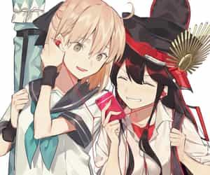 anime, anime girl, and earphones image